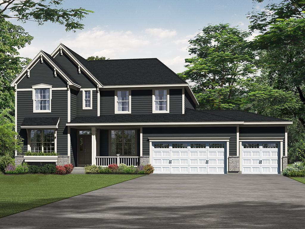 Exterior featured in the Bristol II By Payne Family Homes LLC in St. Louis, MO