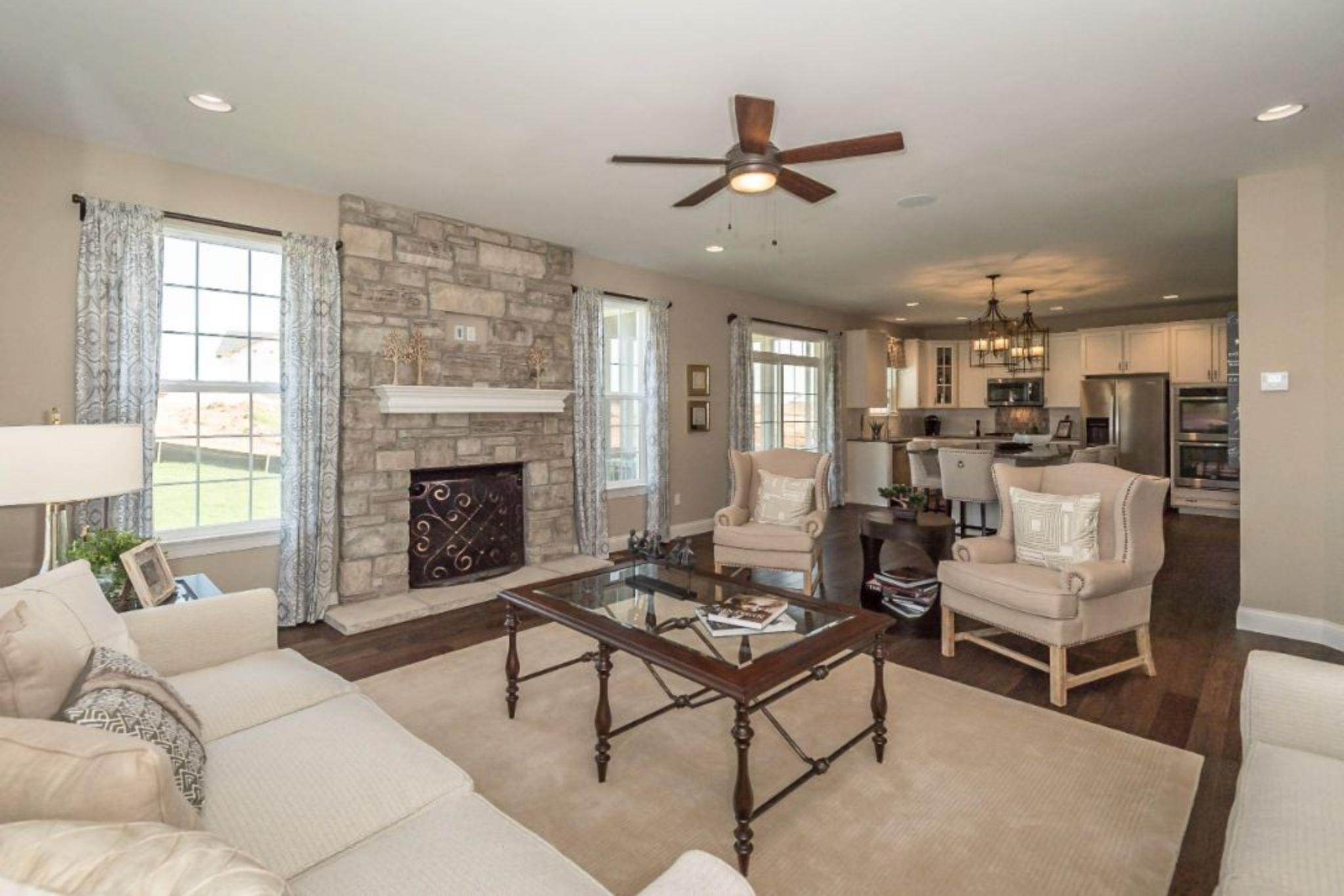 Living Area featured in the Fairfax By Payne Family Homes LLC in St. Louis, MO