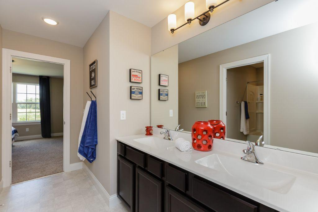 Bathroom featured in the Montego II By Payne Family Homes LLC in St. Louis, MO