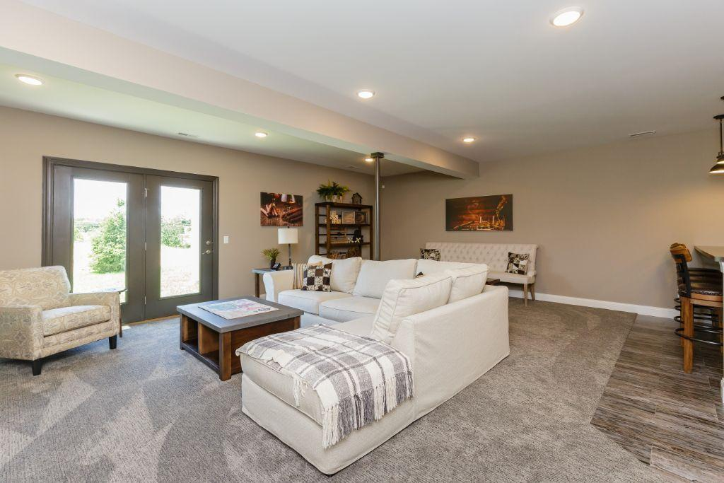 Living Area featured in the Montego II By Payne Family Homes LLC in St. Louis, MO