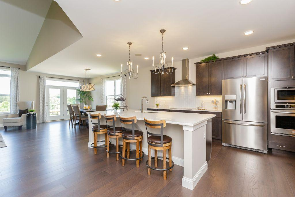 Kitchen featured in the Montego II By Payne Family Homes LLC in St. Louis, MO