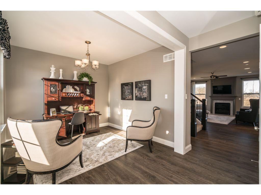 Living Area featured in the Franklin By Payne Family Homes LLC in St. Louis, MO