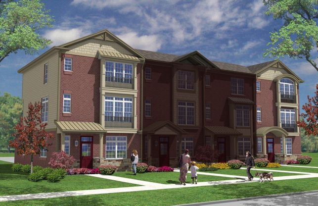Stockton Townhome Plan Tinley Park Illinois 60477