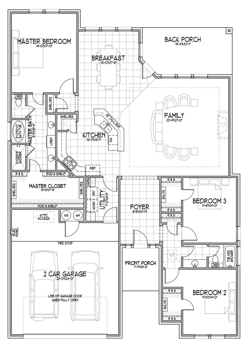 The Fabiana Floor Plan