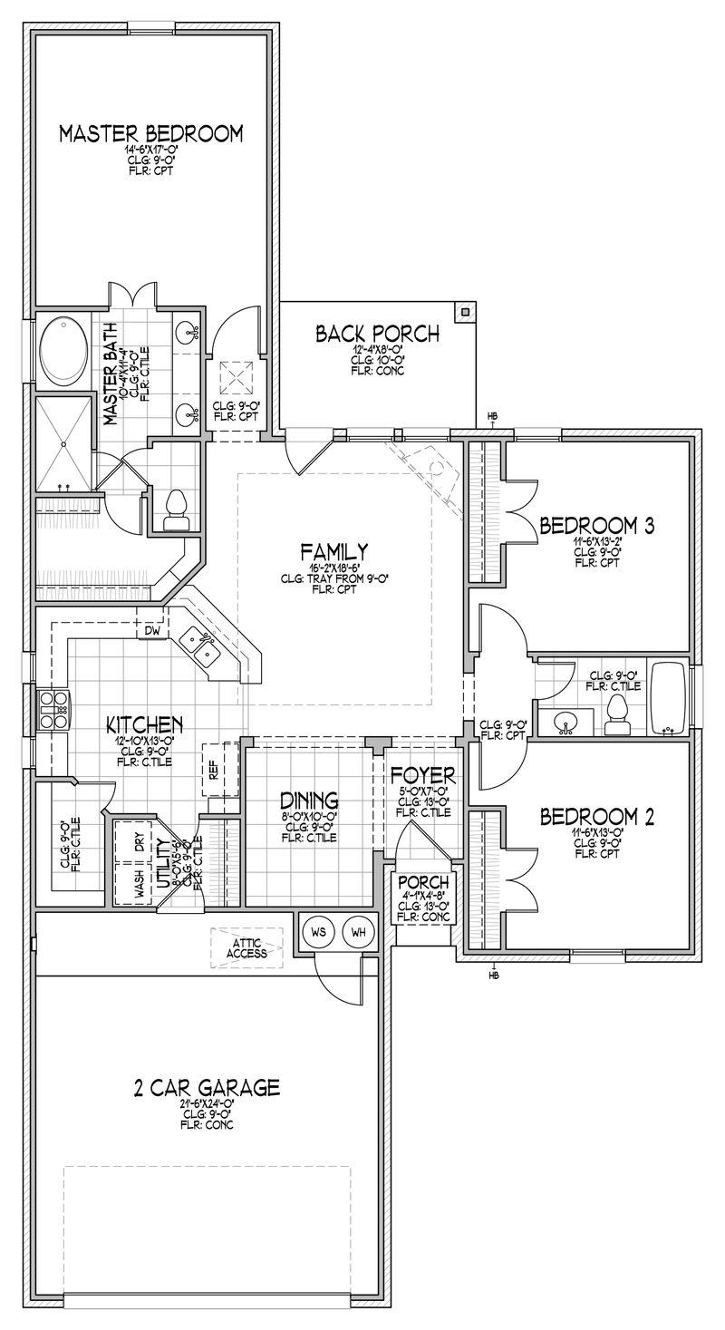 The Isabella Floor Plan