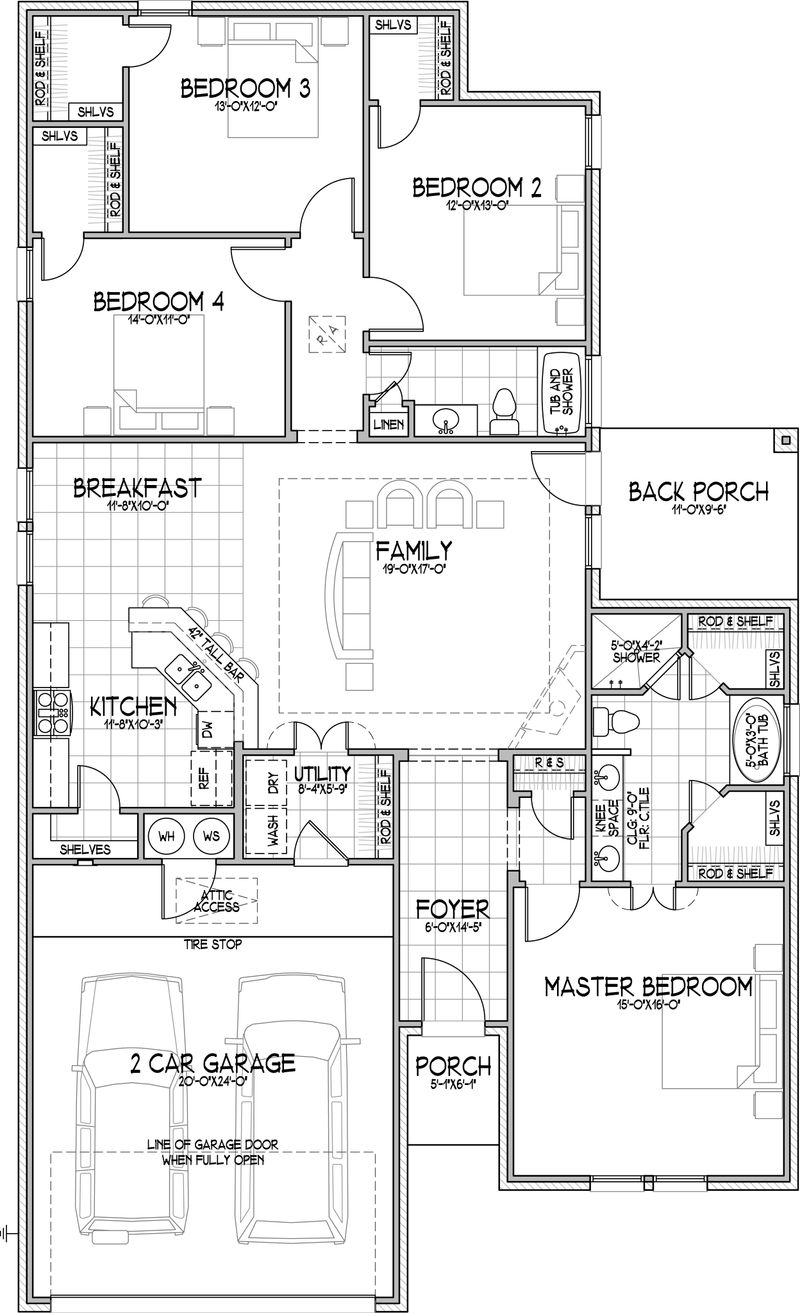 The Mirella Floor Plan