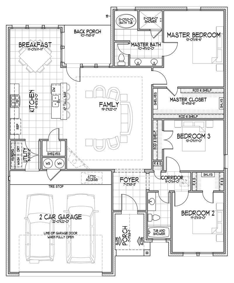 The Daniela Floor Plan