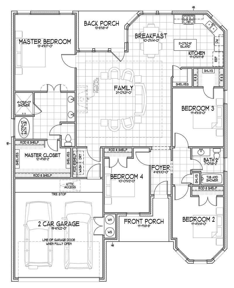 The Erminia Floor Plan