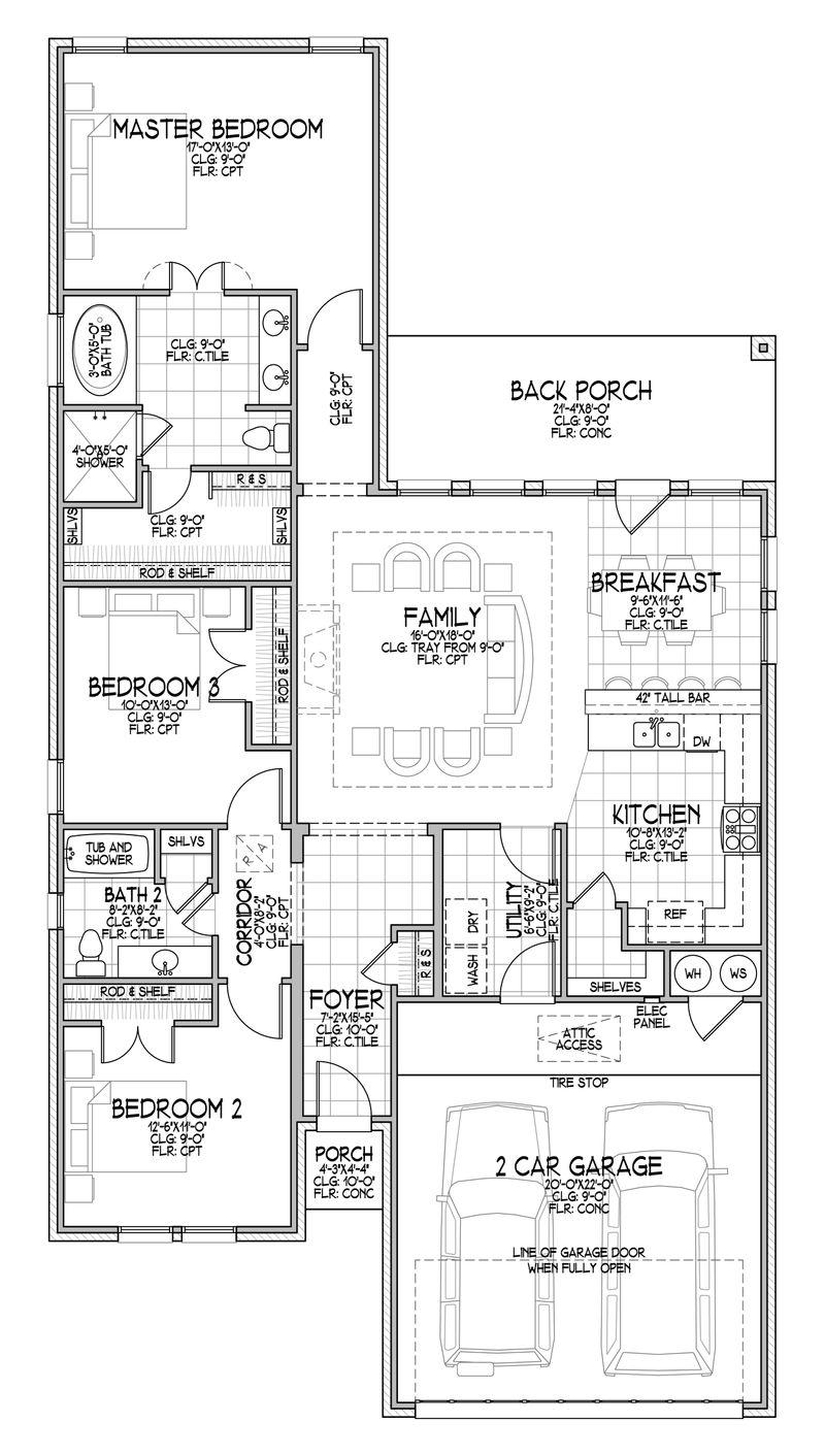 The Keili Floor Plan