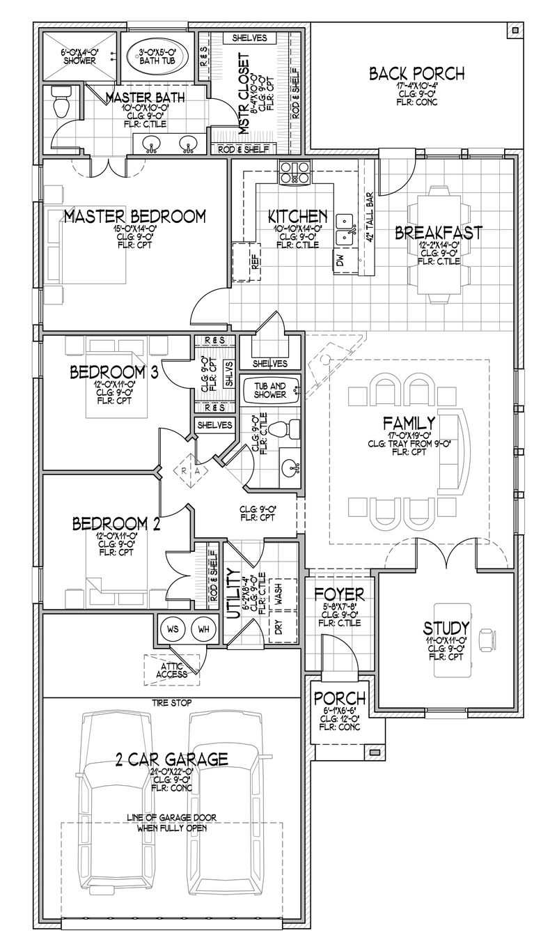 The Rylee Floor Plan