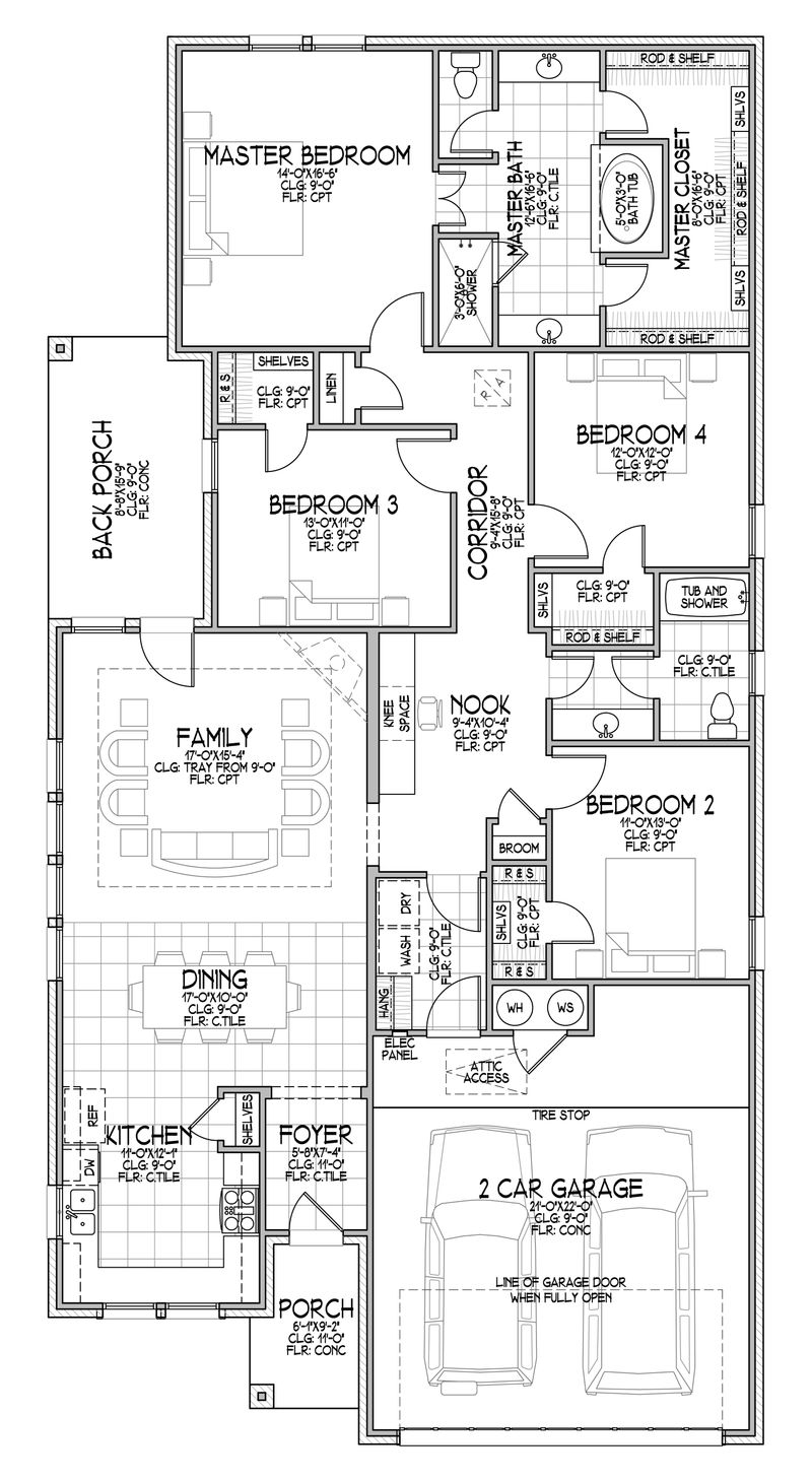 The McKenna Floor Plan