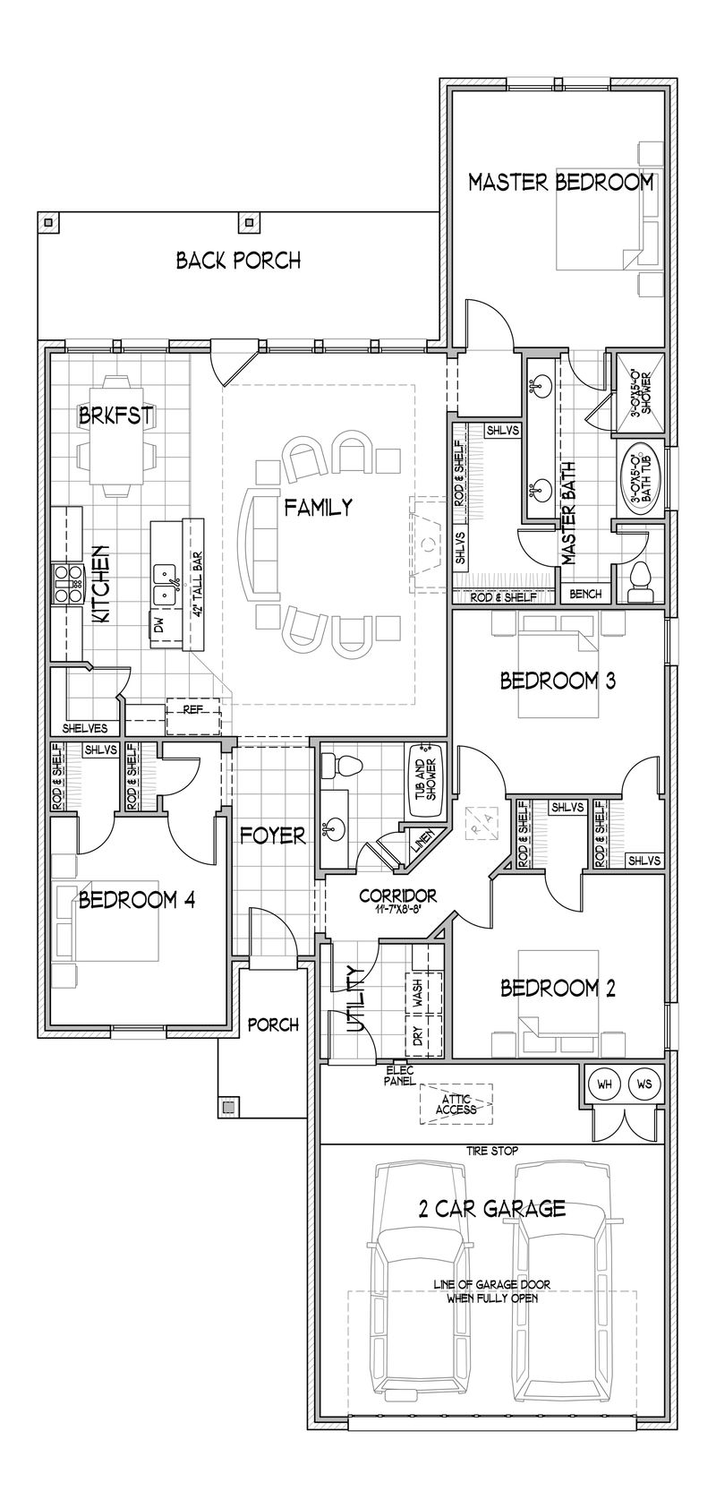 The Samantha Floor Plan