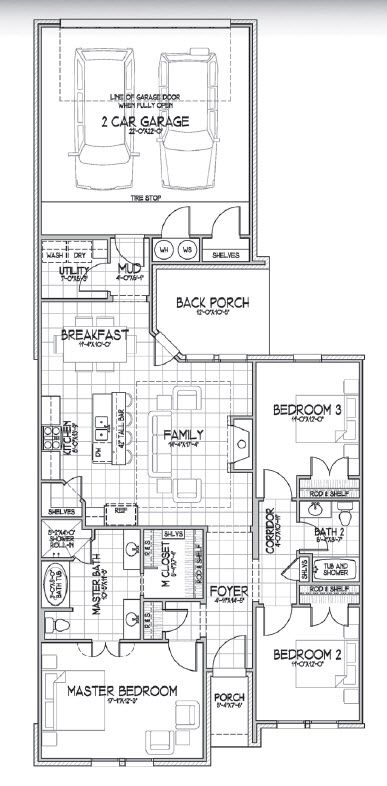 The Shari Floor Plan