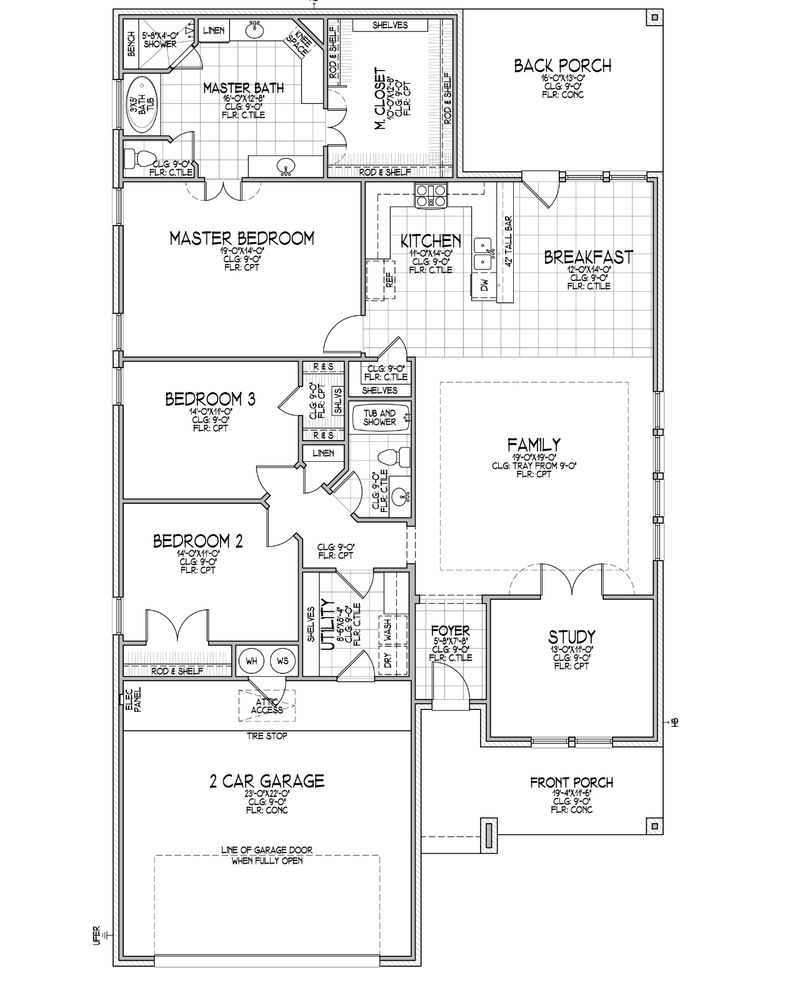 Katiana A Floor Plan