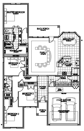 The Francesca Floorplan