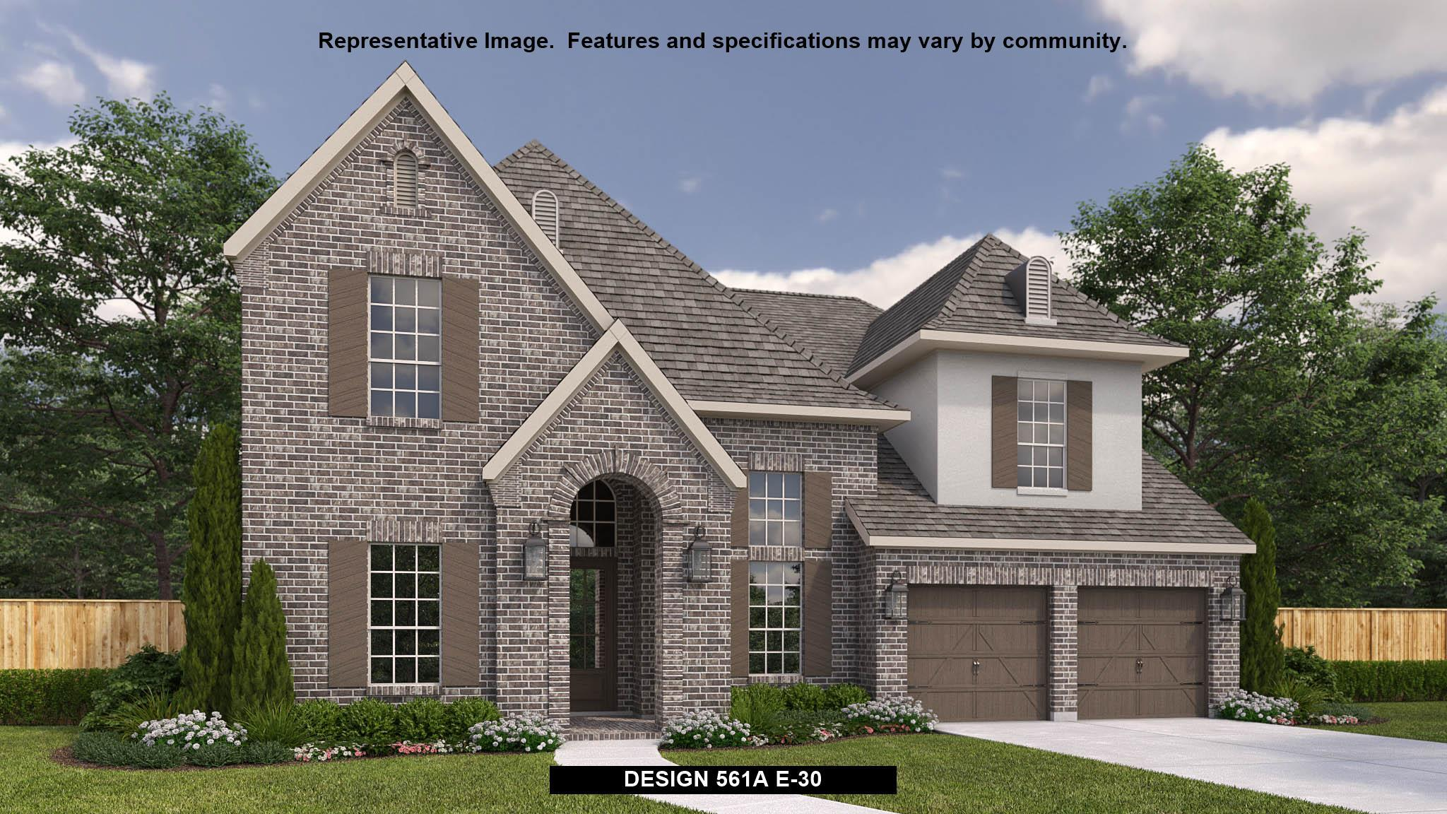 Exterior featured in the 561A By BRITTON HOMES in Fort Worth, TX