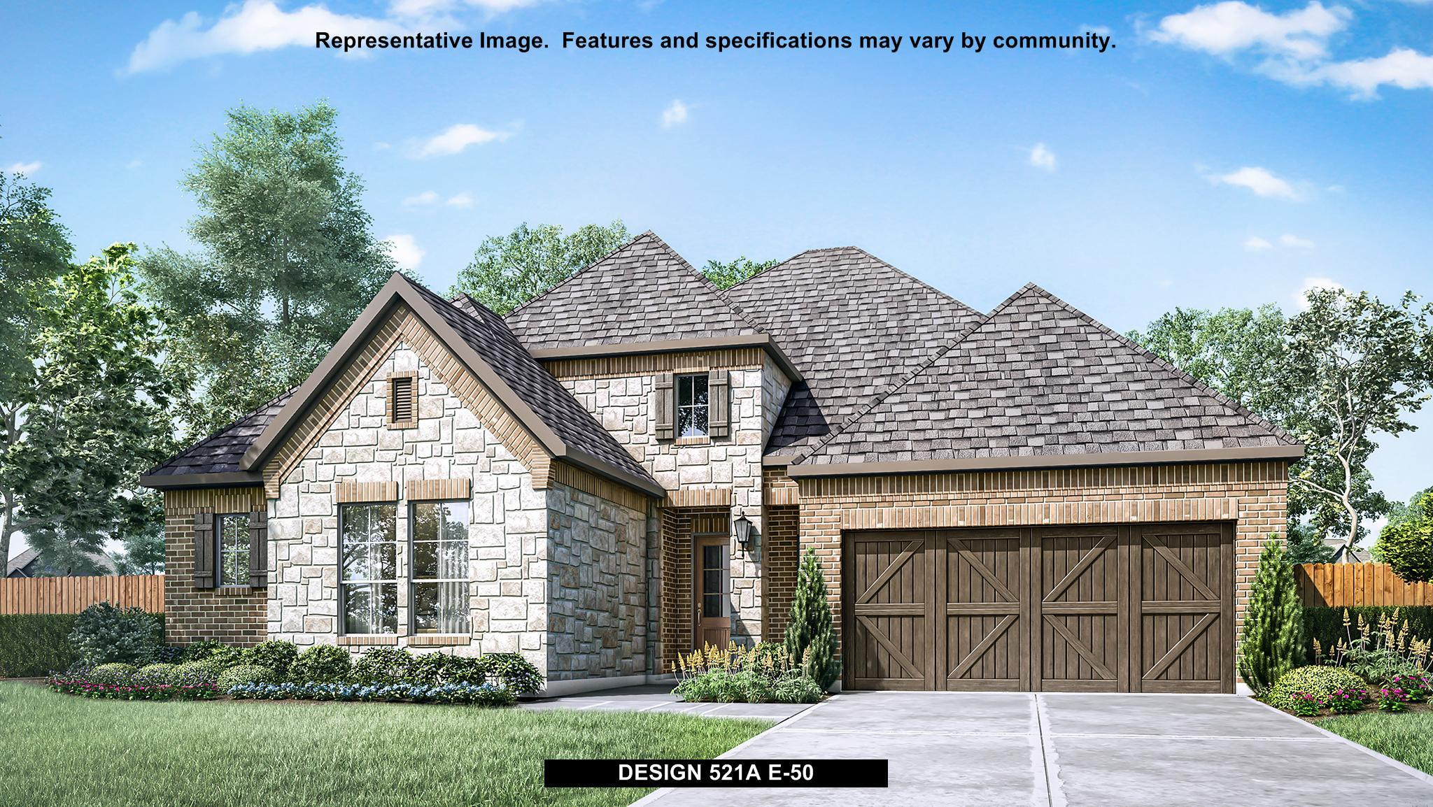 Exterior featured in the 521A By BRITTON HOMES in Dallas, TX