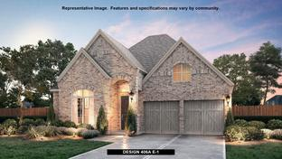 406A - The Tribute 50': The Colony, Texas - BRITTON HOMES