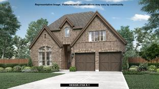 410A - The Tribute 50': The Colony, Texas - BRITTON HOMES