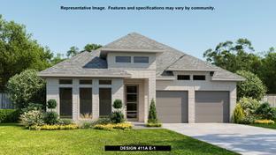 411A - Castle Hills 50': Lewisville, Texas - BRITTON HOMES