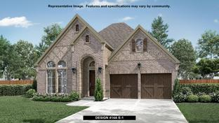 414A - The Tribute 50': The Colony, Texas - BRITTON HOMES