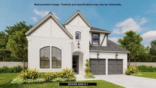 428A - Castle Hills 50': Lewisville, Texas - BRITTON HOMES
