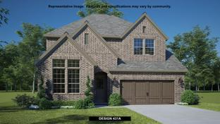 431A - The Tribute 50': The Colony, Texas - BRITTON HOMES
