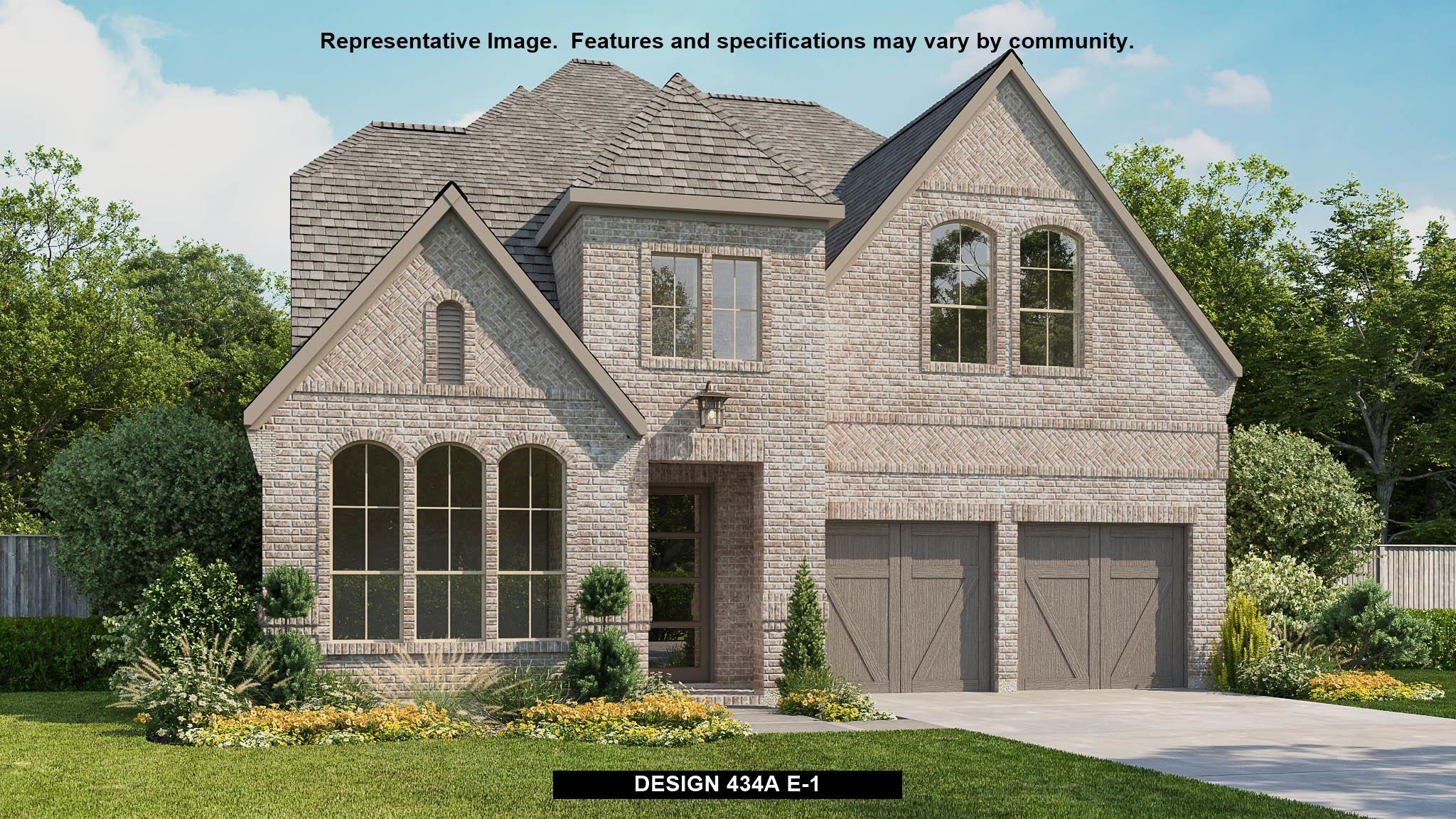 Exterior featured in the 434A By BRITTON HOMES in Dallas, TX