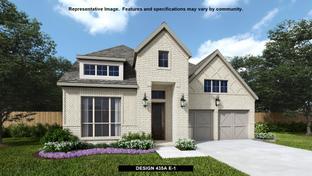 435A - Castle Hills 50': Lewisville, Texas - BRITTON HOMES