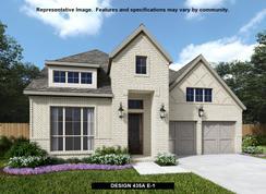 435A - Castle Hills 50': The Colony, Texas - BRITTON HOMES