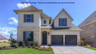 436A - The Tribute 50': The Colony, Texas - BRITTON HOMES