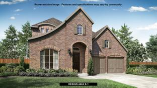 442A - The Tribute 50': The Colony, Texas - BRITTON HOMES