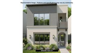 102V - Villas at Legacy West: Plano, Texas - BRITTON HOMES