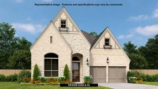435A - The Tribute 50': The Colony, Texas - BRITTON HOMES