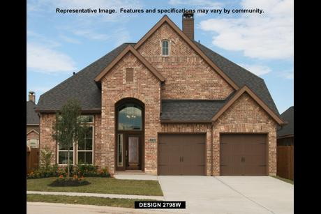 2798W Plan at The Reserve At Brazos Town Center 50\' in Rosenberg ...
