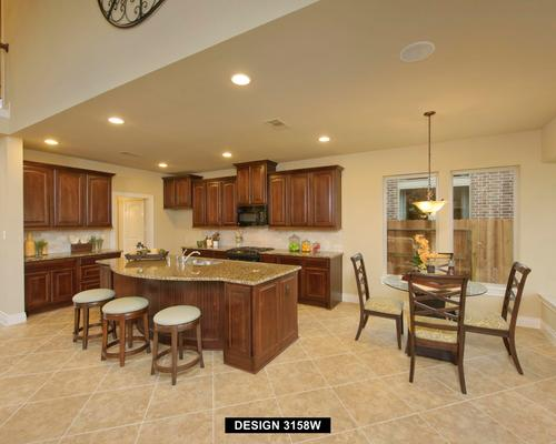 Kitchen-in-3158W-at-Lakes at Creekside 65'-in-Tomball