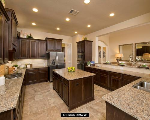 Kitchen-in-3257W-at-The Grove at Vintage Oaks 70'-in-New Braunfels