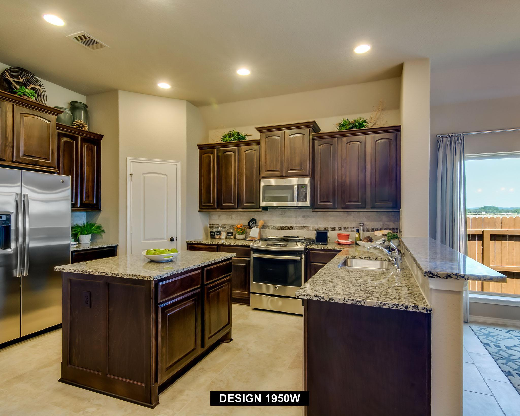 Kitchen-in-1950W-at-The Village of Mill Creek 50'-in-Seguin