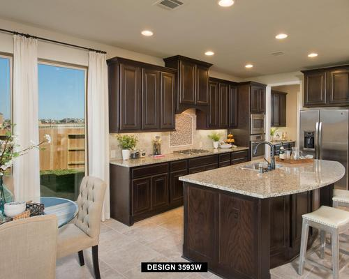 Kitchen-in-3593W-at-Lakes at Creekside 65'-in-Tomball