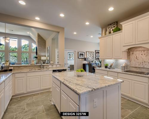 Kitchen-in-3257W-at-Lakes at Creekside 65'-in-Tomball