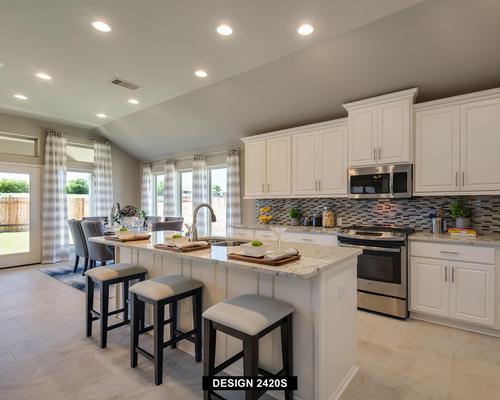 Kitchen-in-2420S-at-Santa Rita Ranch 50'-in-Liberty Hill