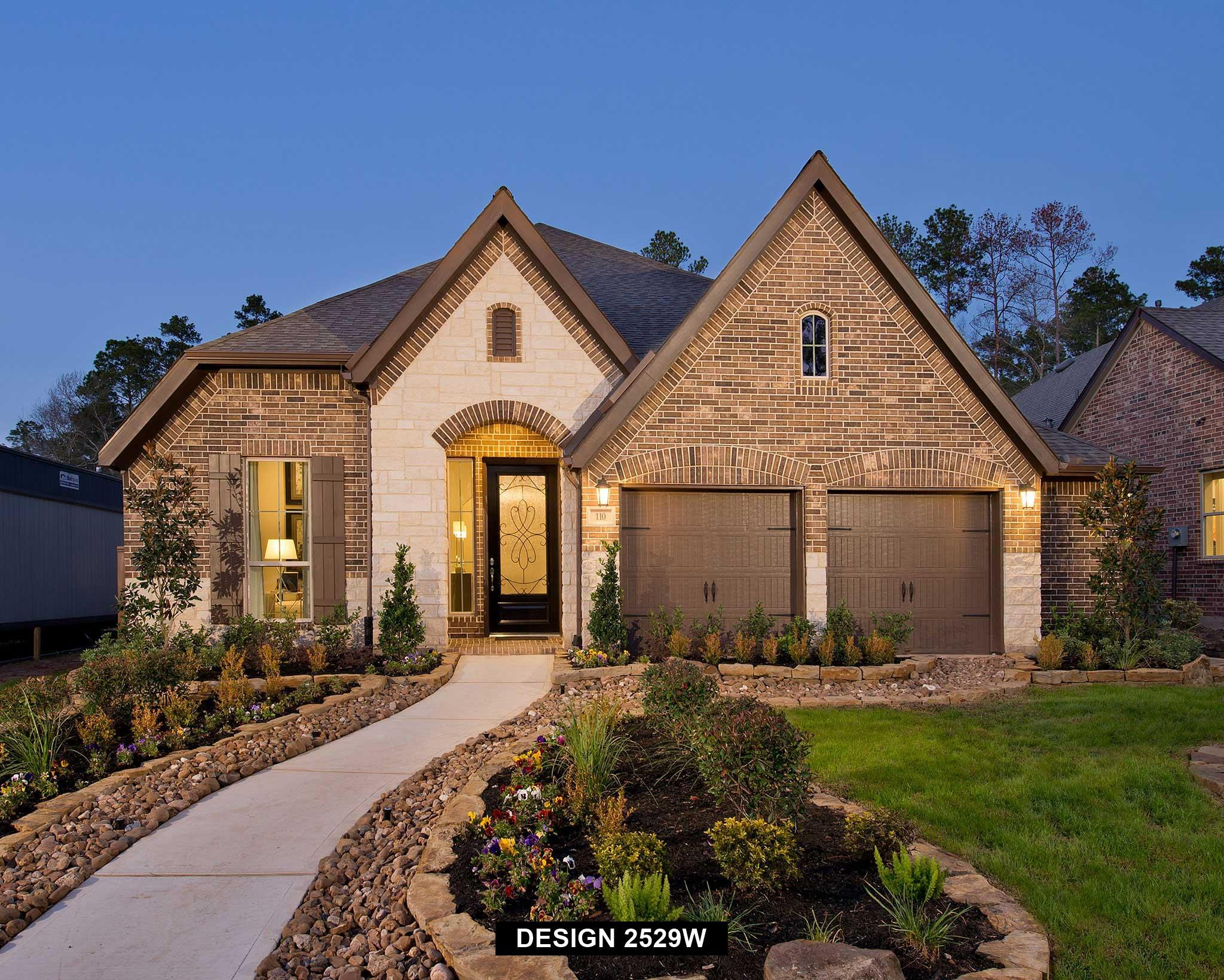 Exterior featured in the 2529W By Perry Homes in San Antonio, TX
