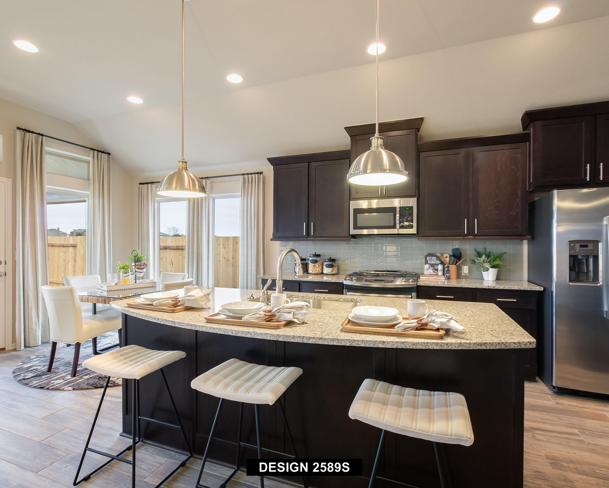 Kitchen-in-2589S-at-The Ranches at Creekside 55'-in-Boerne