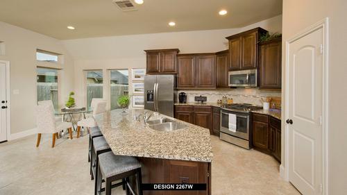 Kitchen-in-2267W-at-Cross Creek Ranch 50'-in-Fulshear
