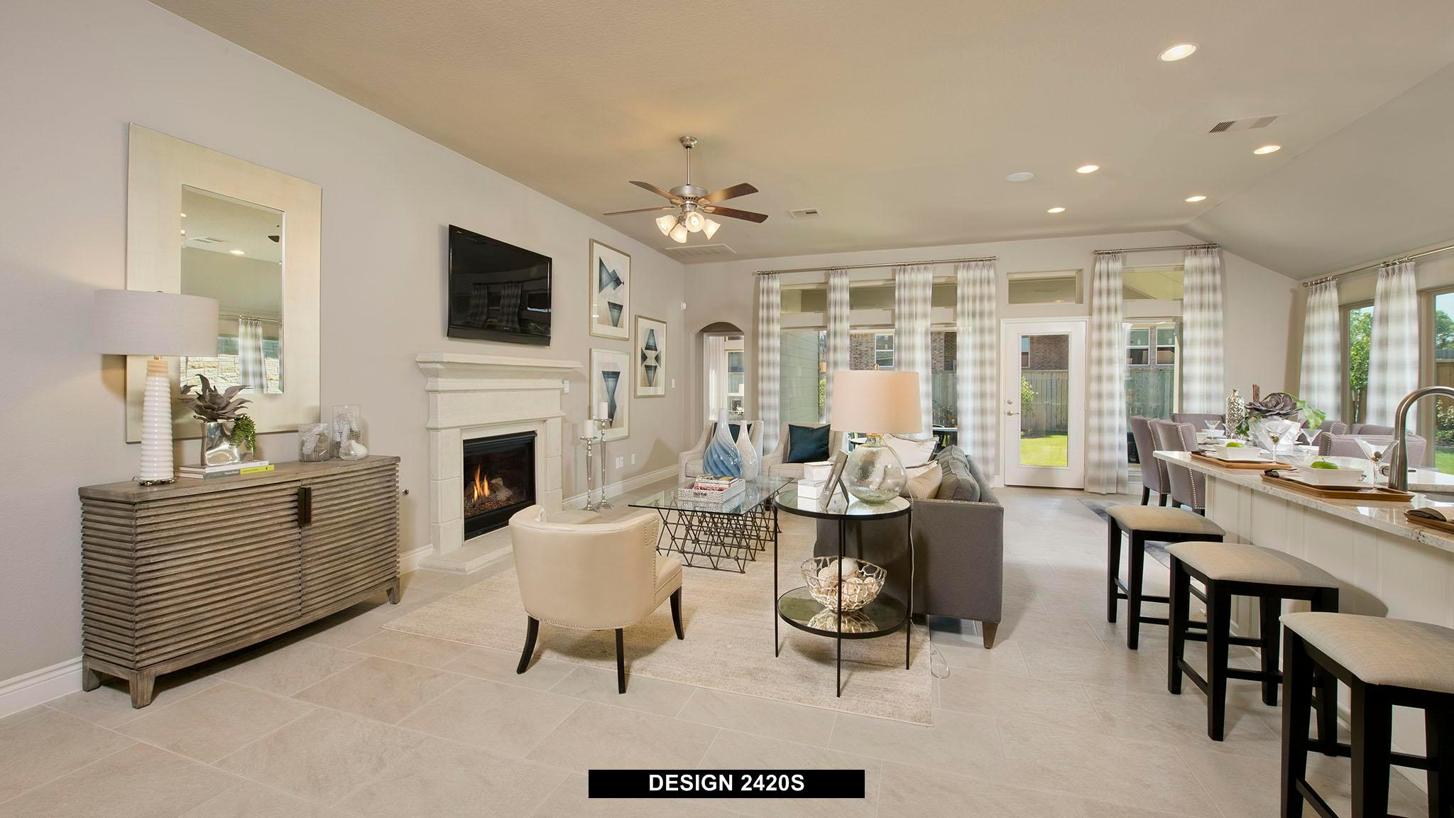 Living Area featured in the 2420S By Perry Homes in Austin, TX