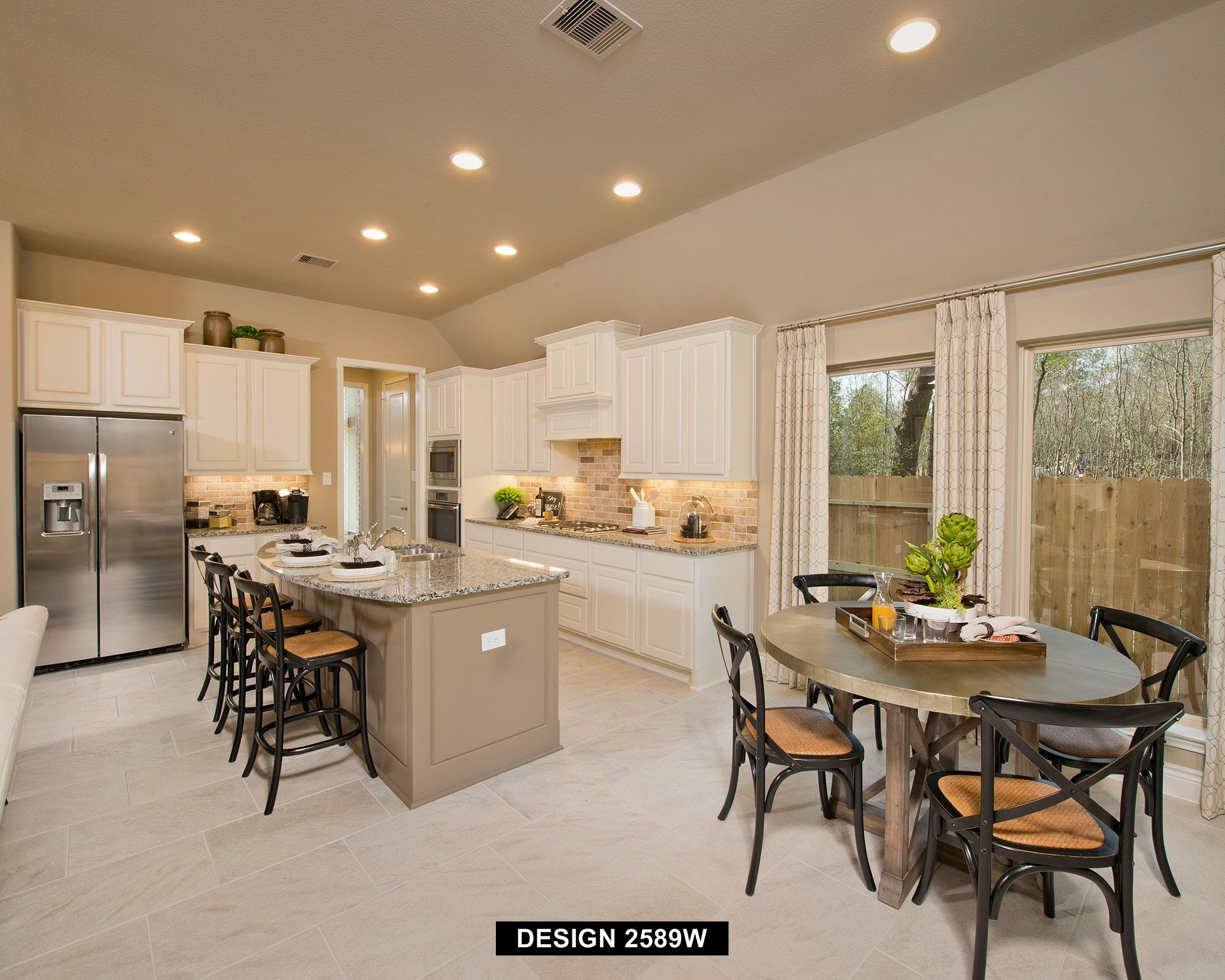 Kitchen-in-2589W-at-The Groves 50'-in-Humble