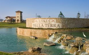 Lakes of Bella Terra West 50' by Perry Homes in Houston Texas