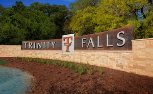 Trinity Falls 45' by Perry Homes in Dallas Texas