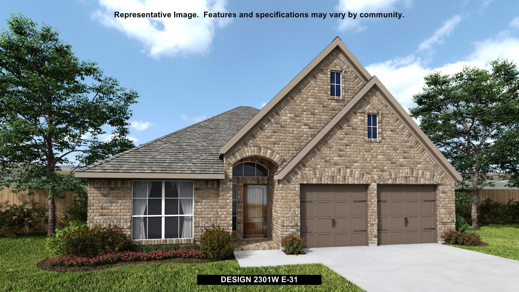 Exterior featured in the 2301W By Perry Homes in Dallas, TX
