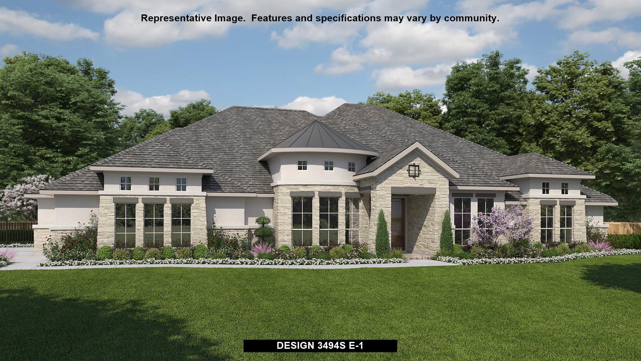 3494S   Balcones Creek Half Acre: Boerne, Texas   Perry Homes